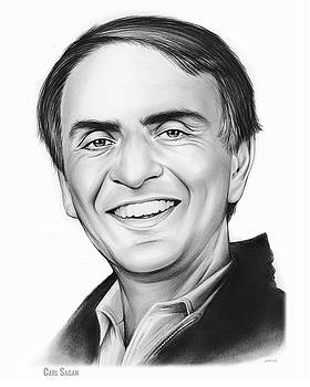 Carl Sagan by Greg Joens