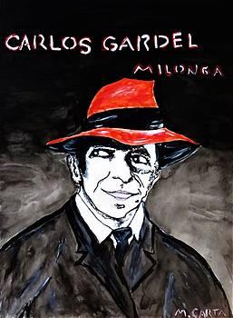 Carlos Gardel  by Mario Carta