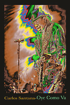 Carlos Santana by Michael Chatman