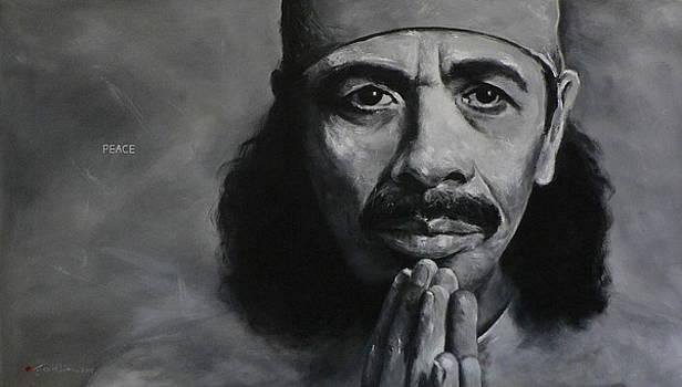 Carlos Santana - Peace by Eddie Lim