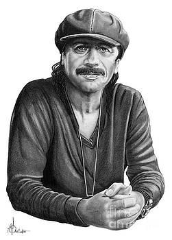 Carlos Santana by Murphy Elliott