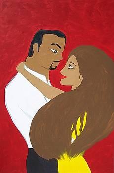 Carlos y Maria by Carlos Alvarado
