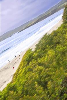 Steve Ohlsen - Carmel Beach 5 - Sideways Slide - Carmel California