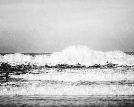 Carmel by the Sea in Black and White by Lisa Russo