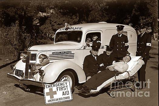 California Views Mr Pat Hathaway Archives - Carmel California Red Cross 1937