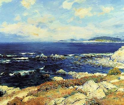 Carmel Coast 1919 by Guy Rose