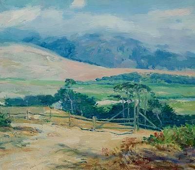 Carmel Hills 1920 by Guy Rose