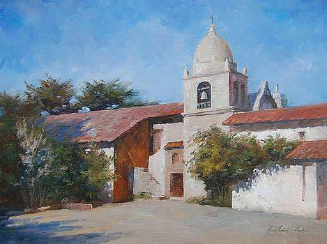 Carmel Mission by Kelvin  Lei