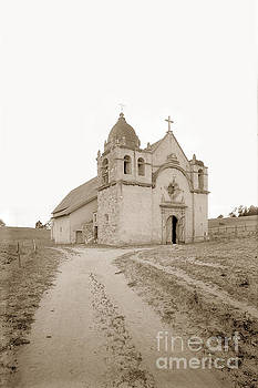 California Views Mr Pat Hathaway Archives - Carmel Mission South side Circa 1915