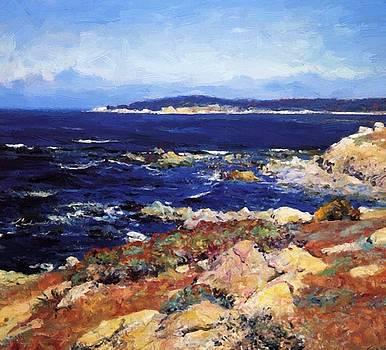 Carmel Seascape by Guy Rose