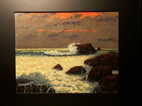 Carmel Sunset by Bert Worsencroft