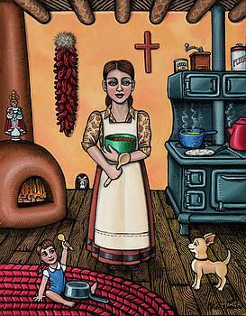 Carmelitas Kitchen Art by Victoria De Almeida
