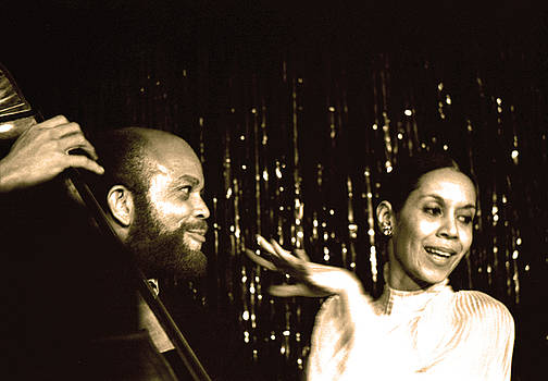 Carmen De Lavallade with Willie Ruff by Nancy Clendaniel