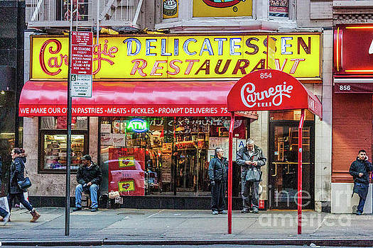 Carnegie Deli by Thomas Marchessault