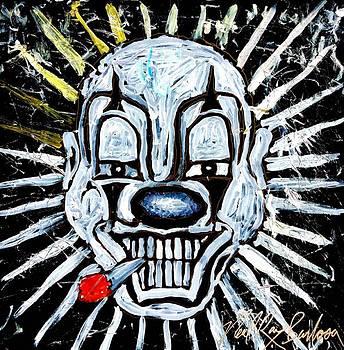 Carnival clown by Neal Barbosa
