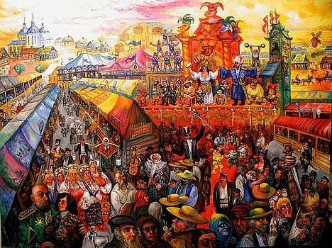 Ari Roussimoff - Carnival Festivities