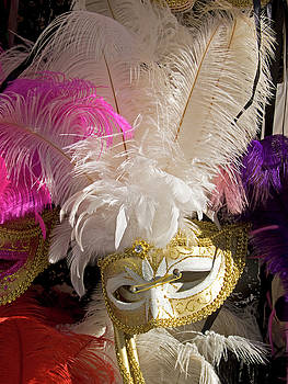 Mary Attard - Carnival Mask in Venice