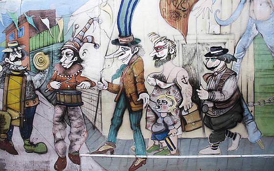 Silvia Bruno - carnival mural