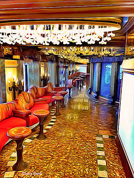 Carnival Pride Hallway by Stephen Younts