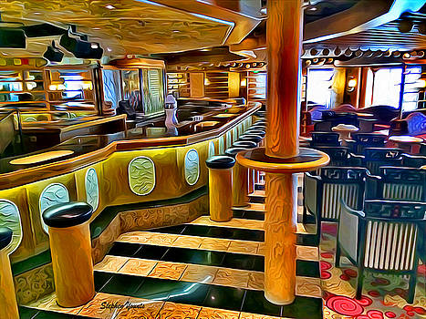 Carnival Pride Ivory Piano Bar by Stephen Younts