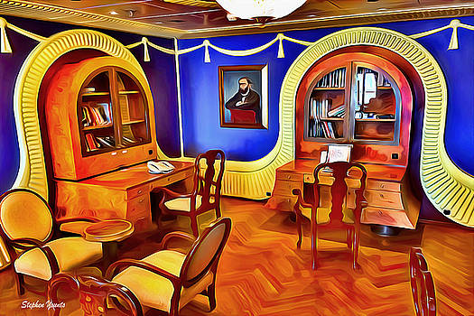 Carnival Pride Library by Stephen Younts