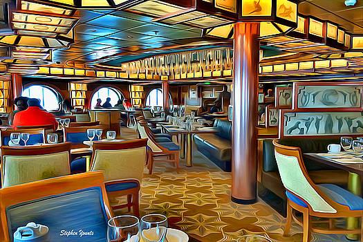Carnival Pride Normandie Restaurant by Stephen Younts