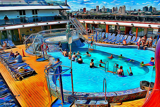 Carnival Pride Pool by Stephen Younts