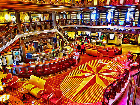 Carnival Pride Renaissance Atrium by Stephen Younts