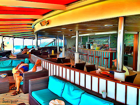 Carnival Pride Serenity Deck by Stephen Younts