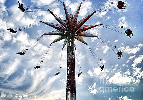 Carnival Rides Orange County Fair by Christy Woodrow