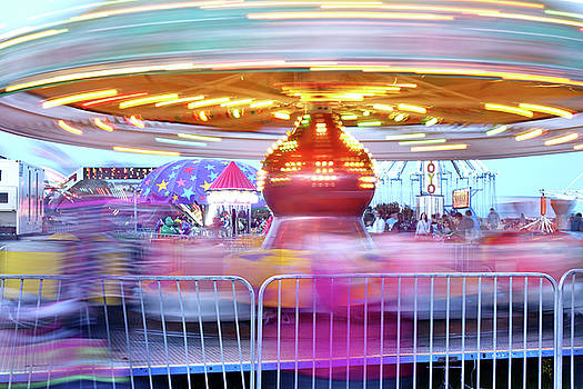 Carnival Whirl by Rick Lawler
