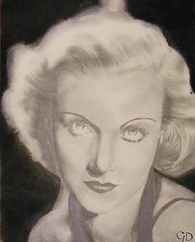 Carole Lombard by Crispin  Delgado