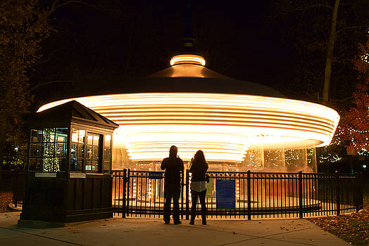 Carousel at Night by Joscelyn Paine