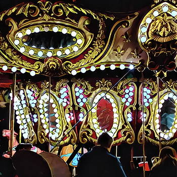 Carousel at Night No. 1 by Richard Hinds