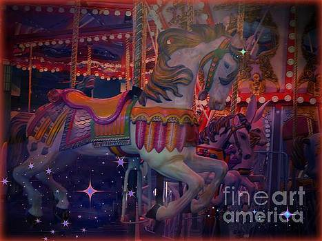 Carousel Horse by Annie Gibbons