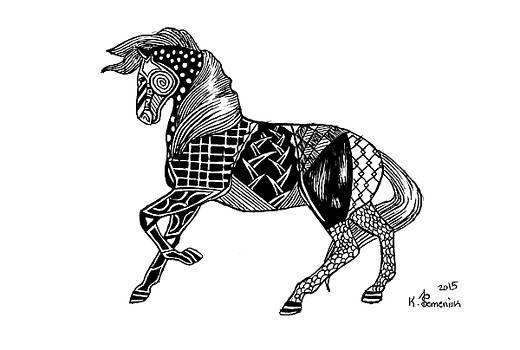 Carousel Horse by Kayleigh Semeniuk