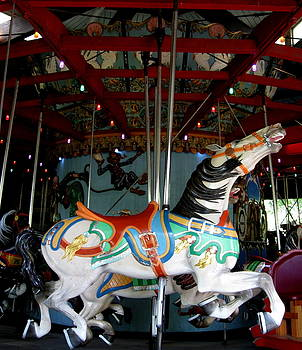 Carousel Horse by Maria Scarfone