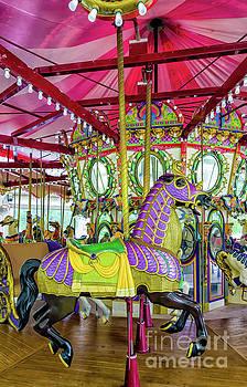 Carousel Horse - Nola - Lafreniere  by Kathleen K Parker