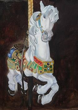Carousel Horse by Troy Krege