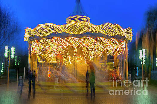 Carousel in Motion by Mats Silvan