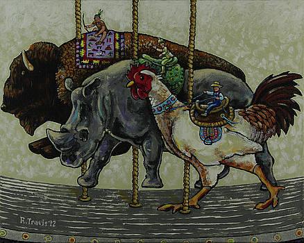 Carousel Kids 1 by Rich Travis