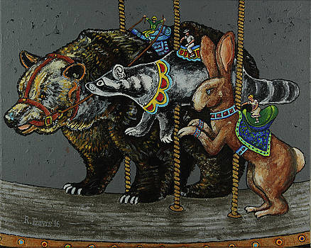 Carousel Kids 4 by Rich Travis