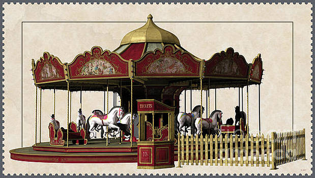 Carousel Rides Ten Cents by L Wright