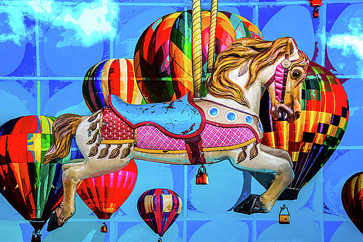 Carousel Sky by Michael Arend