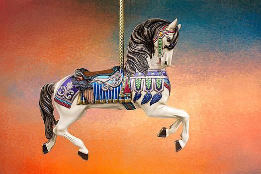 Carousel Sunset by Judy Neill