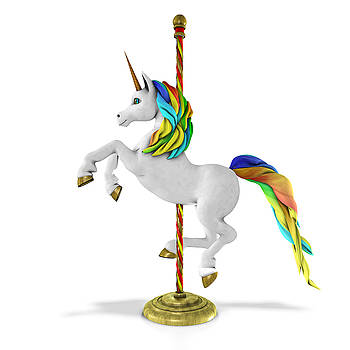 Carousel Unicorn by Frederico Borges