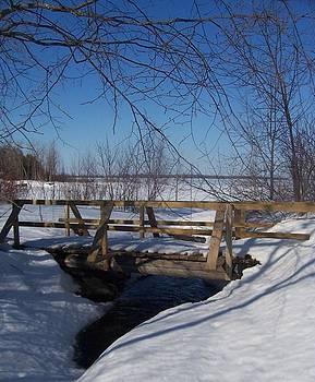Carp Creek Bridge by Deb Stroh Larson