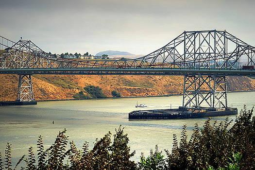 Carquinez Bridge by Joyce Dickens