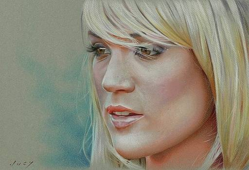 Carrie Underwood Portrait by Brian Duey