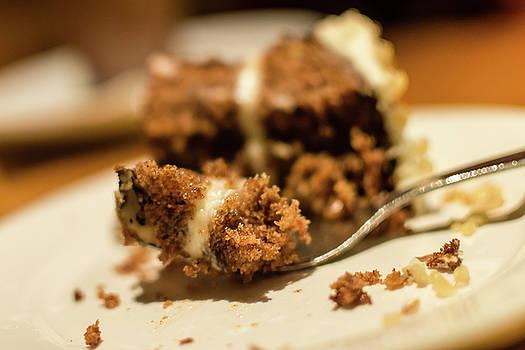 Jacek Wojnarowski - Carrot cake on a fork